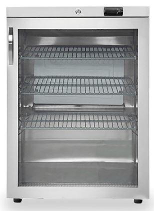 Kühlschrank - 161 Liter mit Glastür