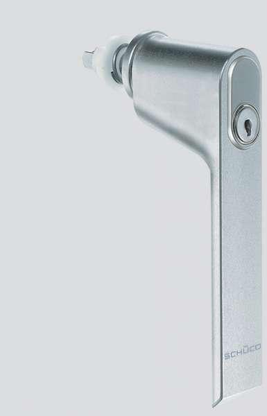 SCHÜCO 247033 WK-Fenstergriff abschließbar C0
